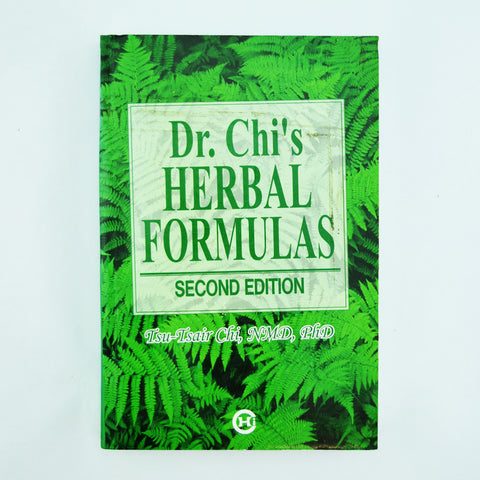 DR. CHI'S HERBAL FORMULAS  (2nd Edition)