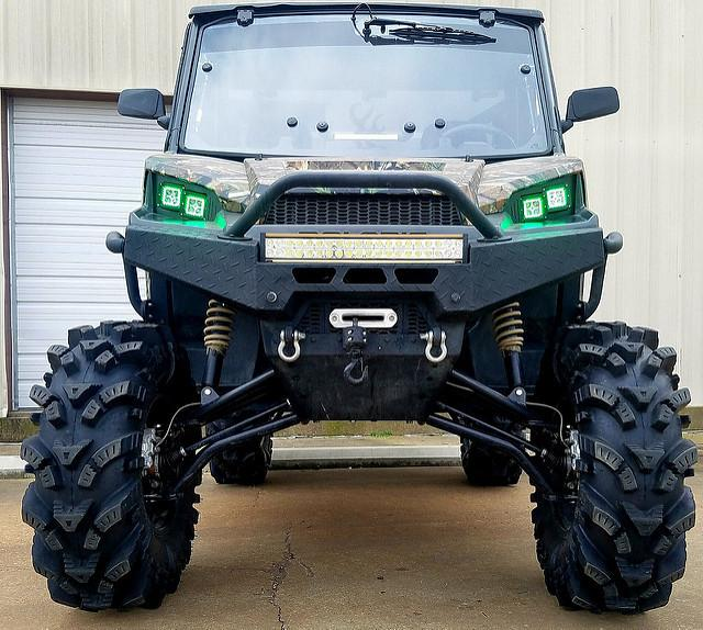 polaris ranger 900 1000 led cube w chasing halos catvos. Black Bedroom Furniture Sets. Home Design Ideas