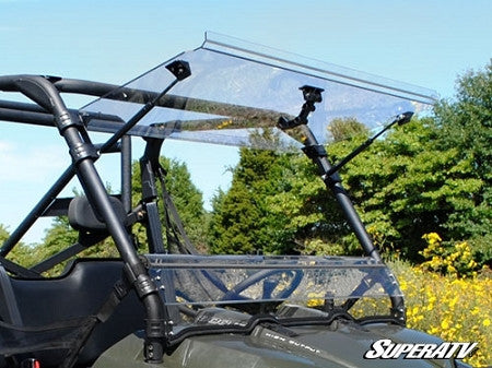 Polaris Ranger XP 570 Scratch Resistant Flip Windshield