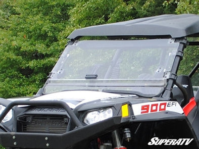Polaris RZR Scratch Resistant Flip Windshield