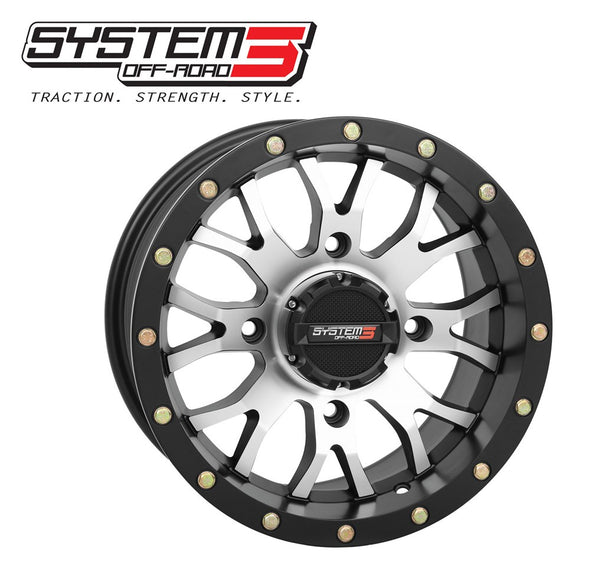 ST-3 UTV Wheel (Machined)