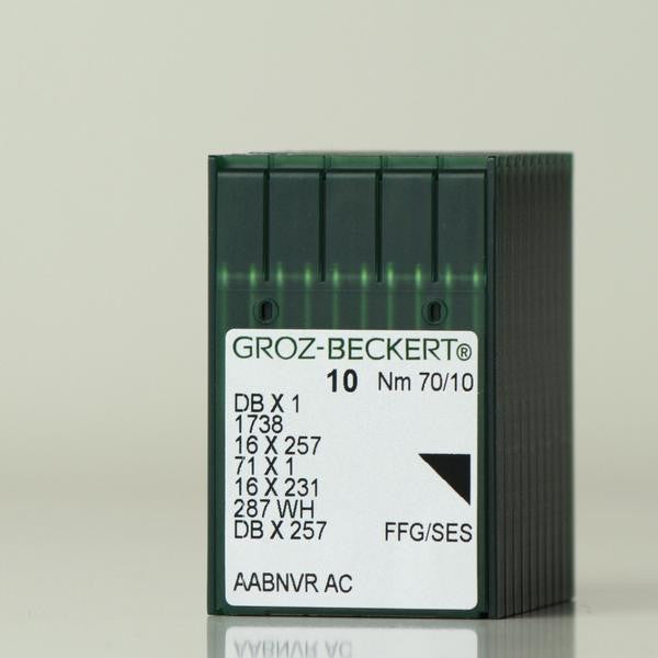 NGB-16X257/DBX1/16X95(BOX) GROZ-BECKERT SINGLE NEEDLE MACHINE NEEDLE