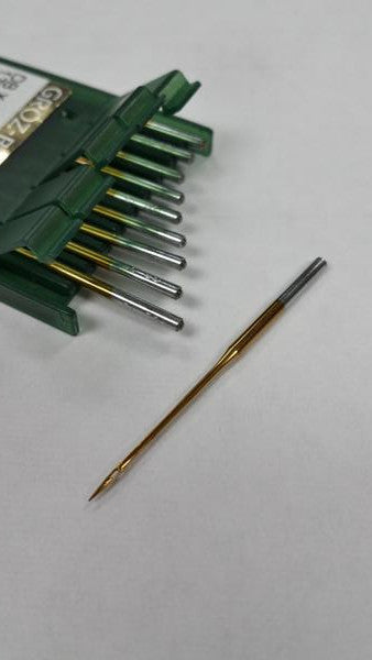 (TITANIUM) NGB-DBXK5 (BOX) GROZ-BECKERT EMBROIDERY NEEDLE GEBEDUR