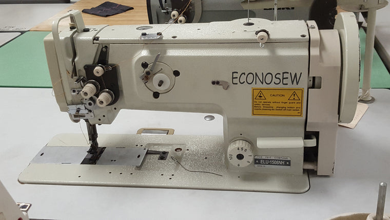 Used ELU-1508NH ECONOSEW 1-Needle Lockstitch Walking Foot