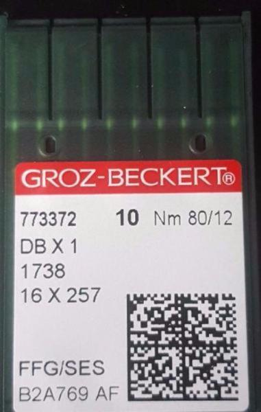 NGB-16X257/DBX1/16X95(10-PACK) GROZ-BECKERT SINGLE NEEDLE MACHINE NEEDLE