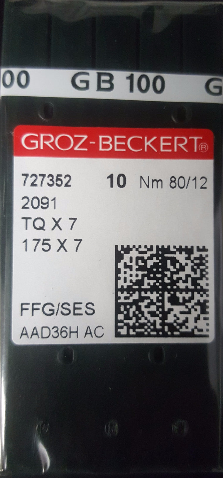 NGB-TQX7/175X7 (10-PACK) GROZ-BECKERT BUTTON SEW MACHINE NEEDLE