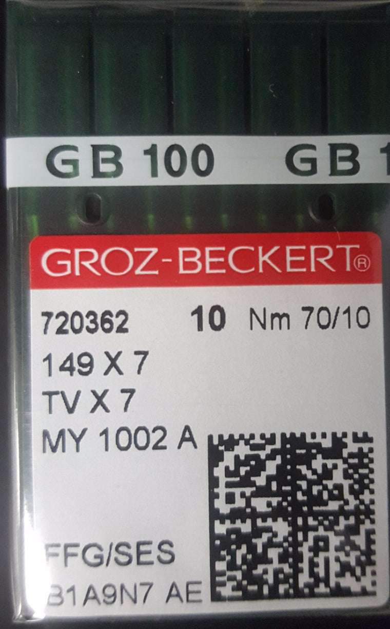 NGB-TVX7/149X7 (10-PACK) GROZ-BECKERT FEED OFF THE ARM/TAPING MACHINE NEEDLE