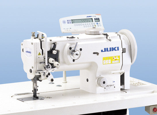 USED DNU-1541 JUKI 1-needle, Unison-feed (Walking Foot), Lockstitch Machine with Dbl-capacity Hook