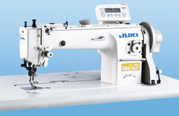 DU-1281-7 JUKI 1-needle, Top and Bottom-feed, Lockstitch Machine with Double-capacity Hook and Automatic Thread Trimmer
