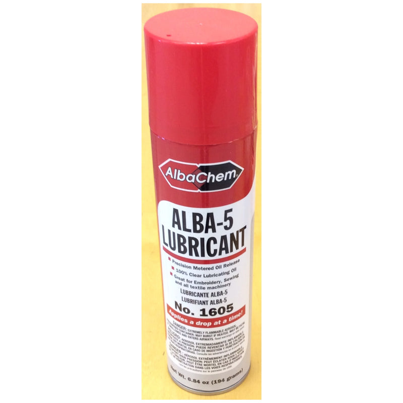 ALB-1605 (ALBA-5 EMBROIDERY LUBRICANT)