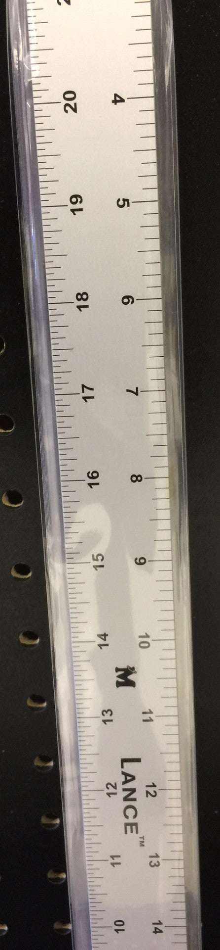 LANCE STRAIGHT EDGE ALUMINUM RULER