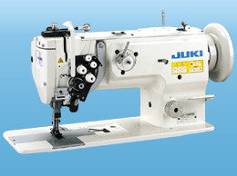 LU-1565N JUKI 2-needle, Unison-feed, Lockstitch Machine with Vertical-axis Large Hooks (Organized Split Bar)
