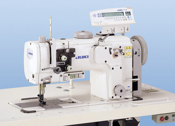 LU-2210 JUKI High-speed, 1-needle, Unison-feed, Lockstitch Machine with Vertical-axis Large Hook