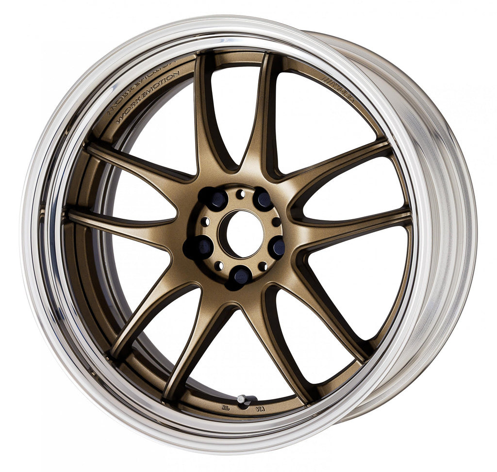 Work Emotion CR 2P Step Rim Wheel 19""