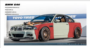 BMW E46 WIDE BODY KIT