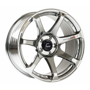 Cosmis Racing MR7 Black Chrome Wheel 18x9 +25mm 5x114.3