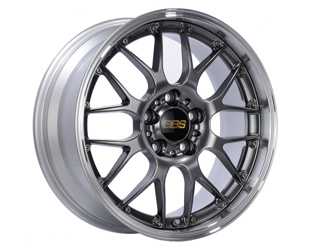 BBS RS956 Wheel Diamond Black | Wheel Diamond Cut Rim 18x11 5x130 45mm