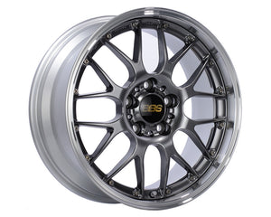 BBS RS925 Wheel Diamond Black | Wheel Diamond Cut Rim 18x8 5x130 50mm