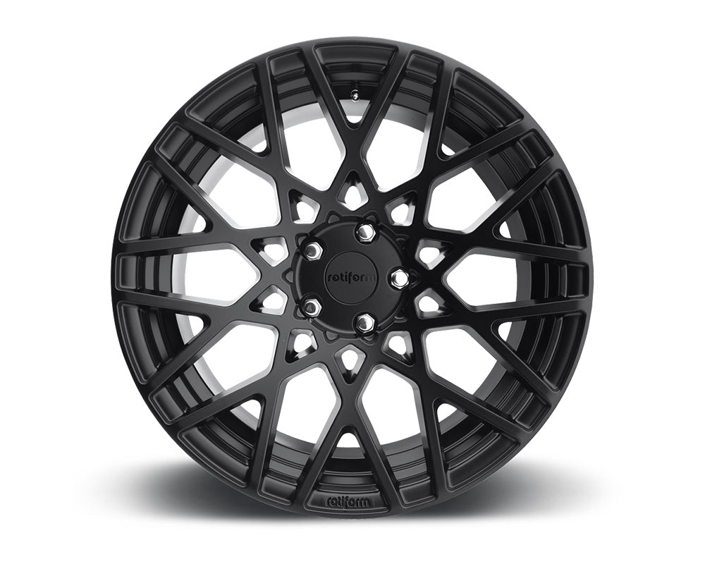 Rotiform BLQ Matte Black Cast Monoblock Wheel 18x8.5 5x114.3 38mm
