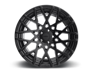 Rotiform BLQ Matte Black Cast Monoblock Wheel 18x8.5 5x114.3 45mm