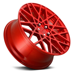 Rotiform BLQ Candy Red Cast Monoblock Wheel 18x8.5 5x112 45mm