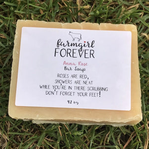 Anna Rose Bar Soap Front