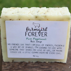 Pure Peppermint Bar Soap