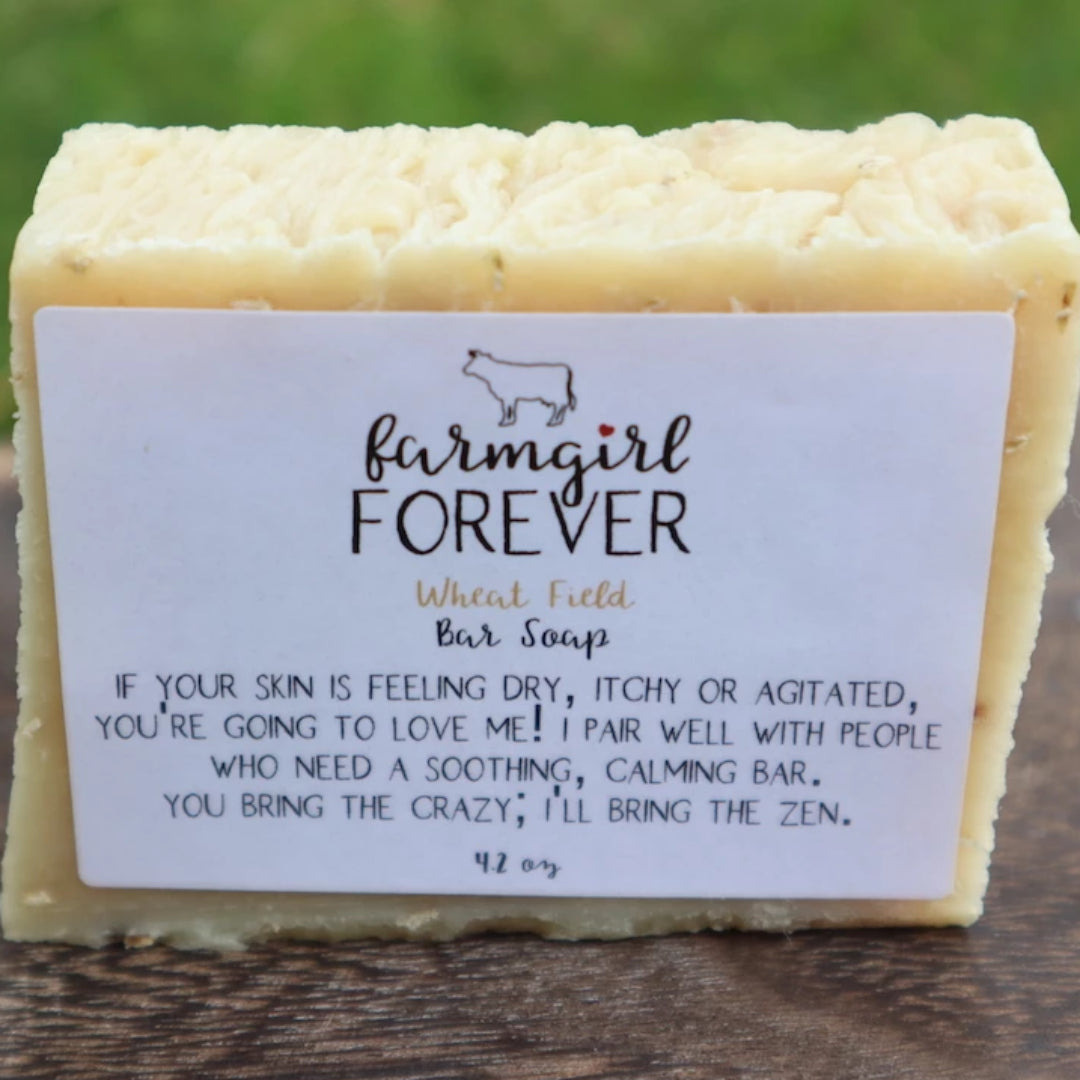 Oatmeal Bar Soap For Sensitive Skin