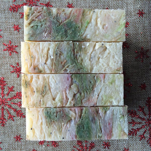 Happy Holidays Bar Soap