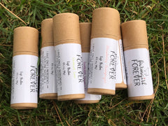 Lip balm bundle in grass