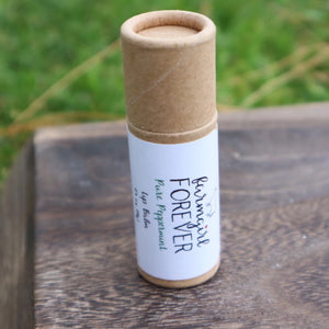 Eco Friendly Natural Pure Peppermint Lip Balm
