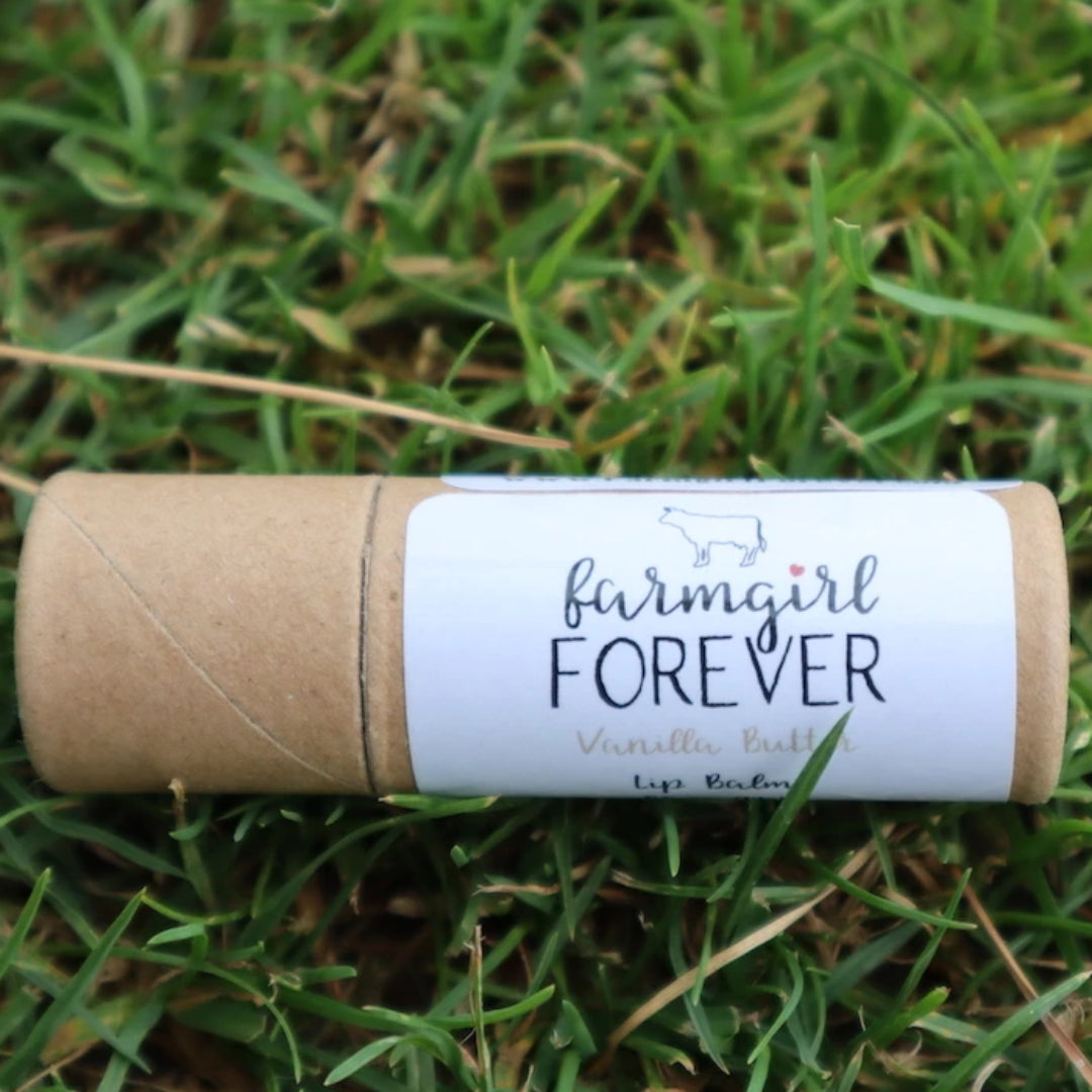 Eco Friendly Natural Vanilla Butter Lip Balm