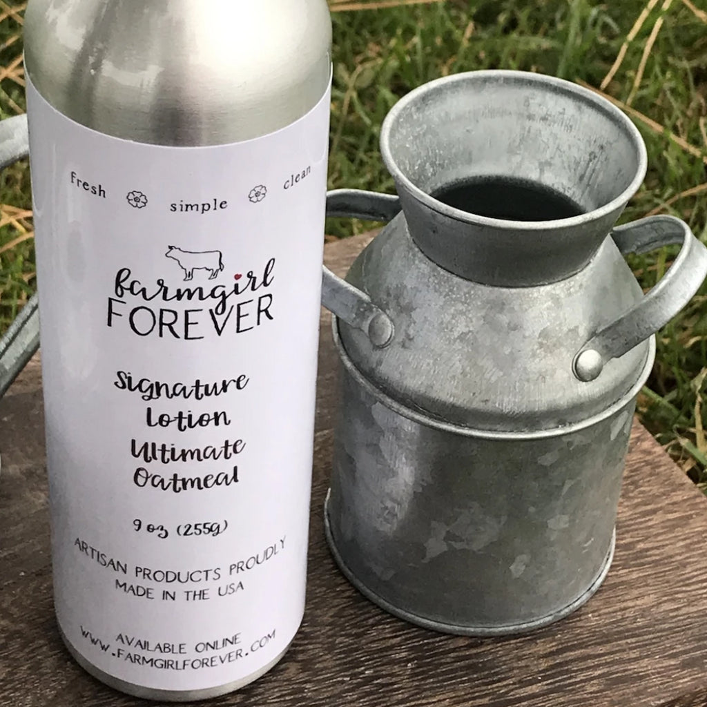 Soothing Natural Oatmeal Milk Honey Lotion