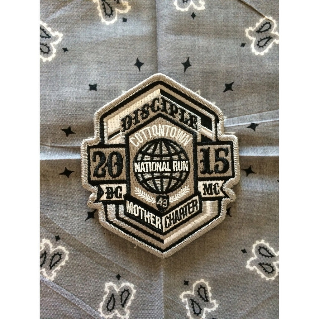 2015 USA National Run Patch-Disciple Christian Motorcycle Club