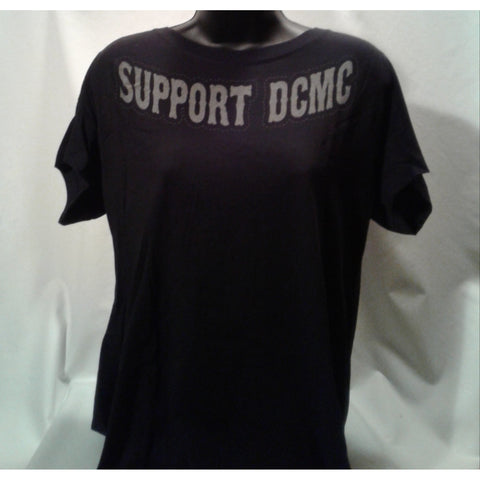 LADIES NEW!!!! BLACK SUPPORT DCMC SHIRT