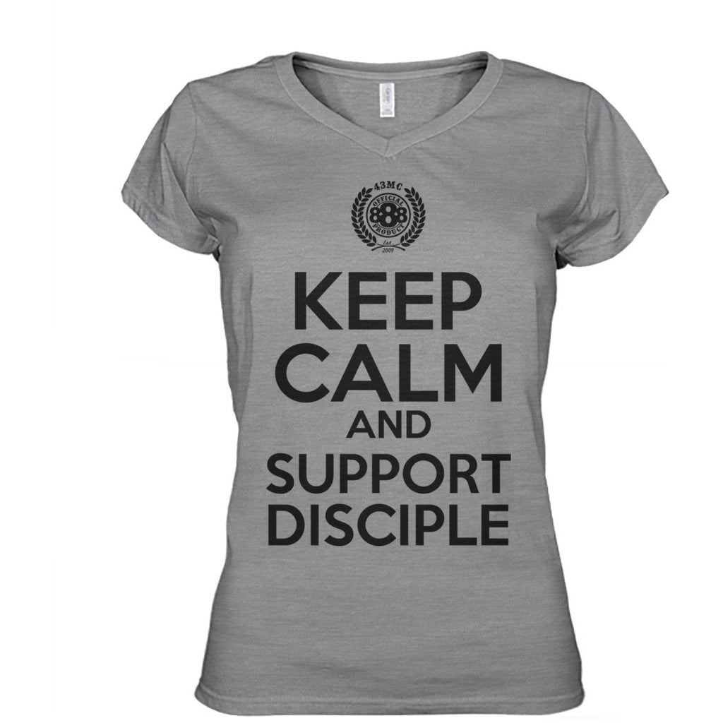 Keep Calm Support Disciple Women's Tees & Tanks