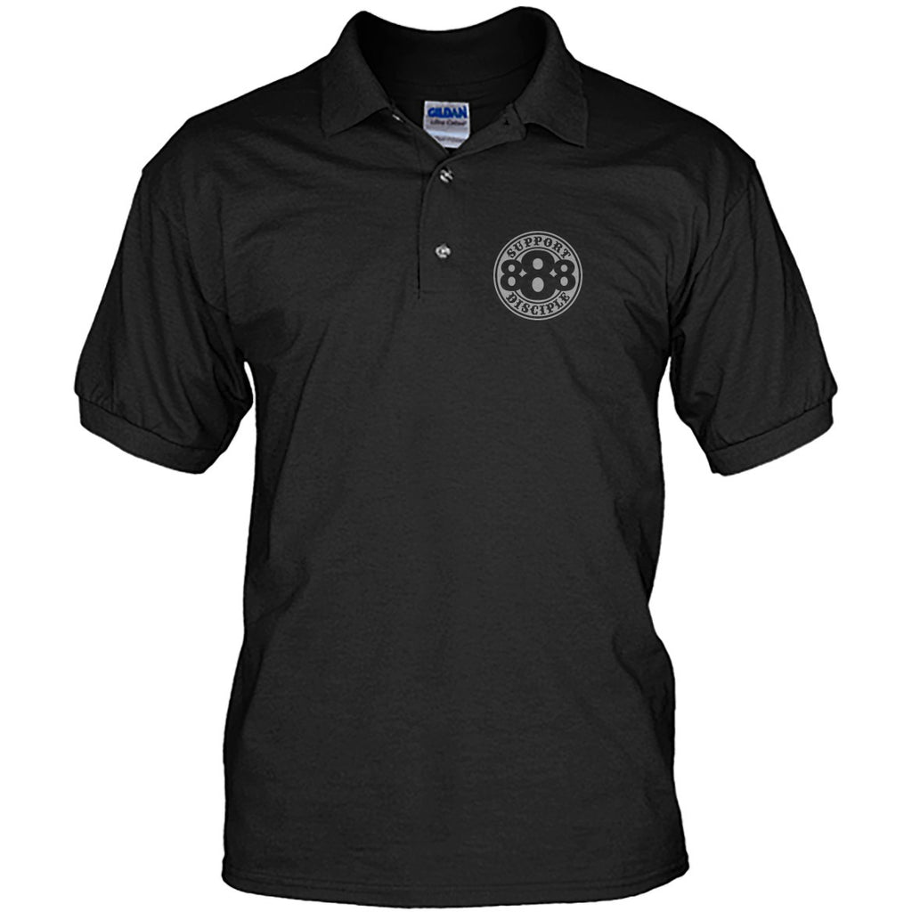 888 Support Disciple Unisex Polos