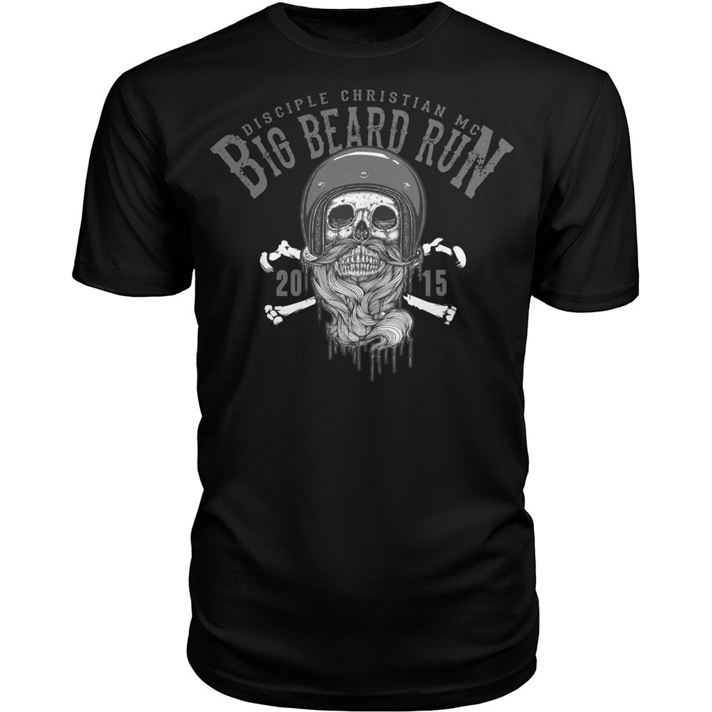 Big Beard 2015 Run Shirt