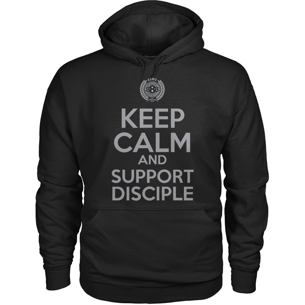 Keep Calm Support Disciple Fleece