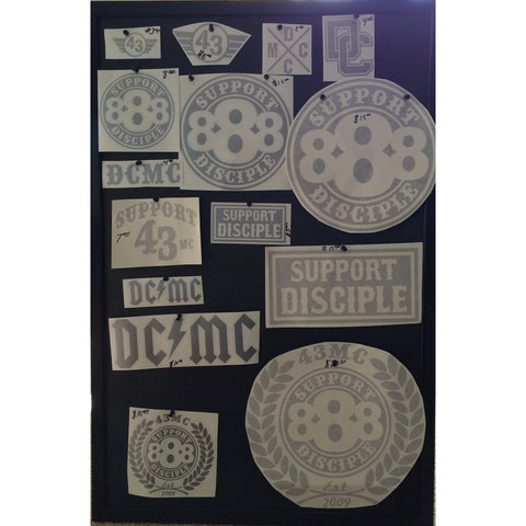 Support Disciple Decals