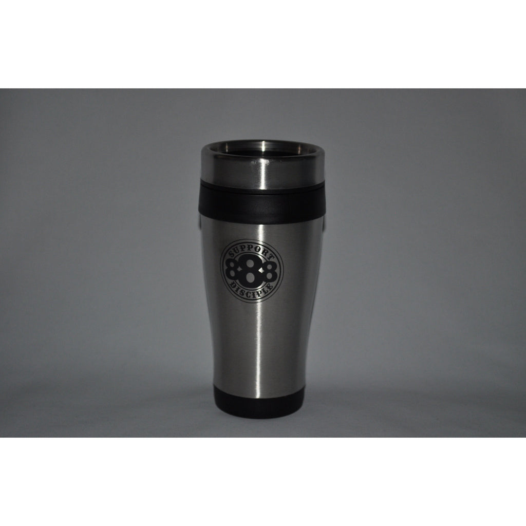Support Disciple Coffee Thermos-Disciple Christian Motorcycle Club