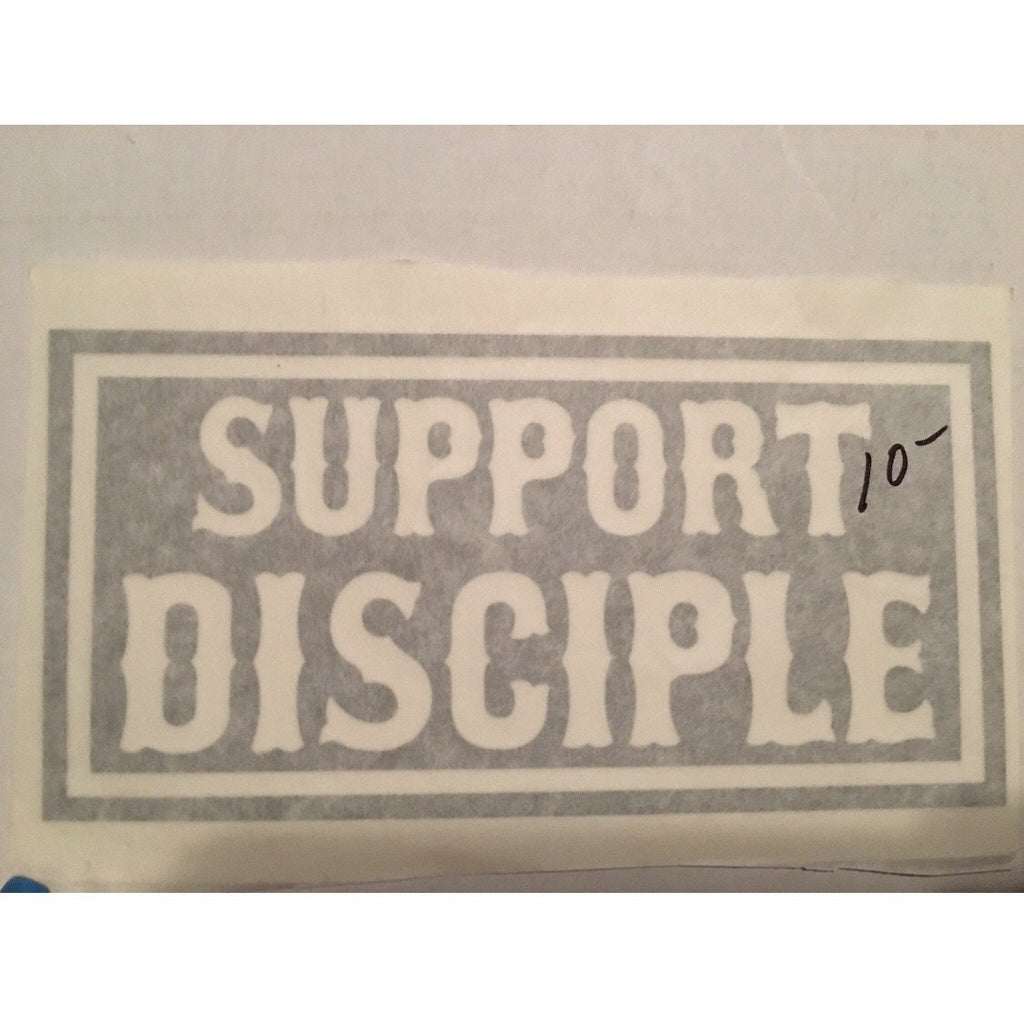 Decal • Support Disciple Medium