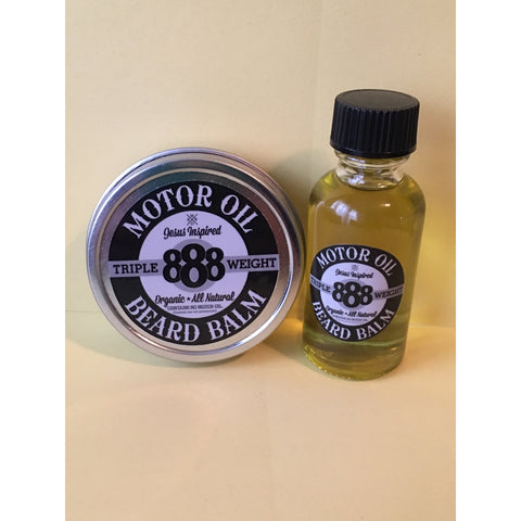 Motor Oil Beard Oil and Beard Balm