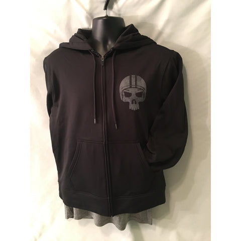 Lazarus Solid Black Performance Zip Hoody
