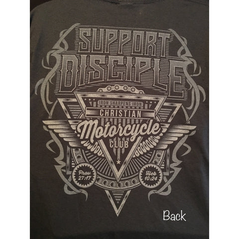 New!! Long Sleeve Support Disciple tshirt