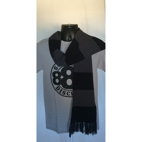 Black & Gray Scarves-Disciple Christian Motorcycle Club