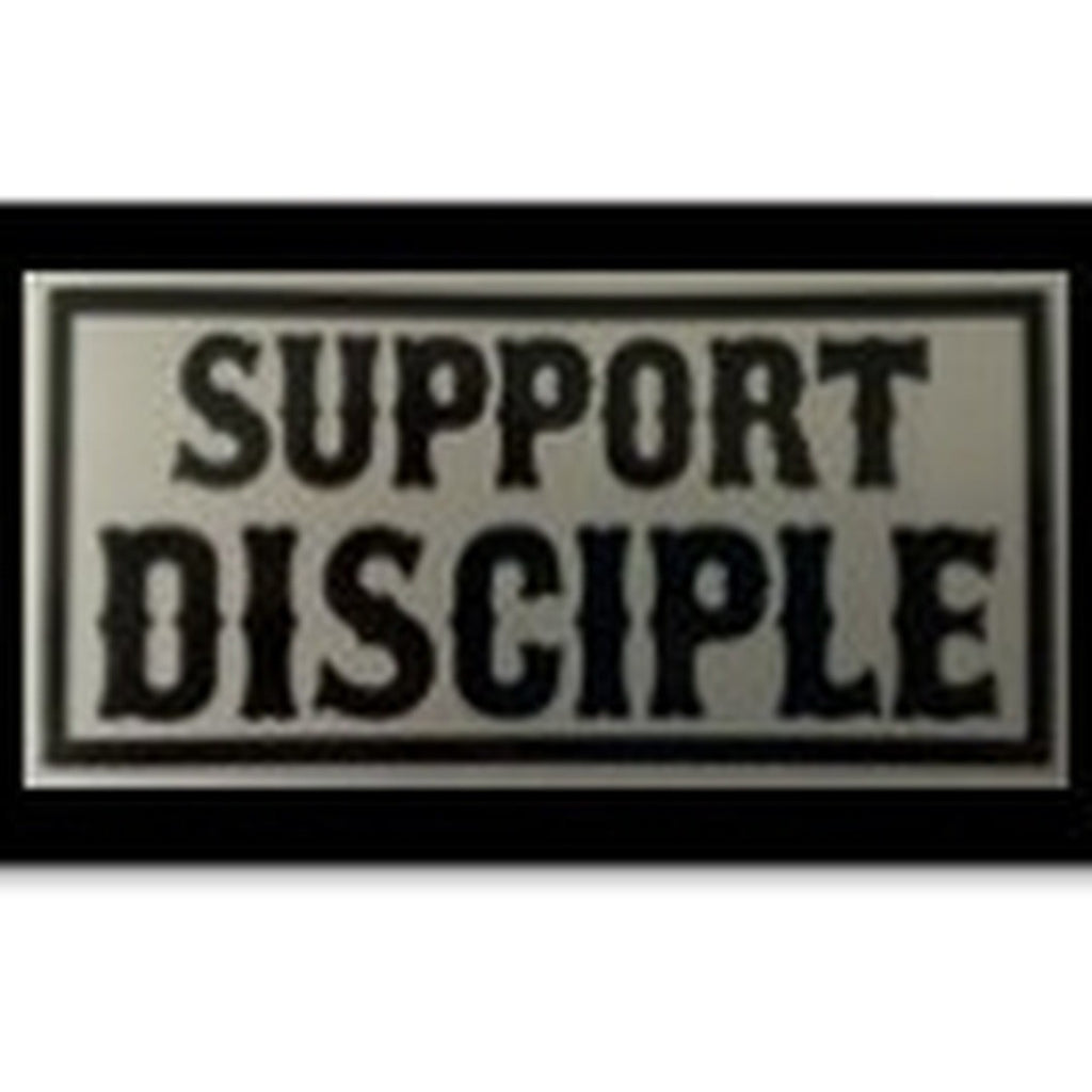 Vinyl Support Disciple Sticker Pack of 1, 5, 10