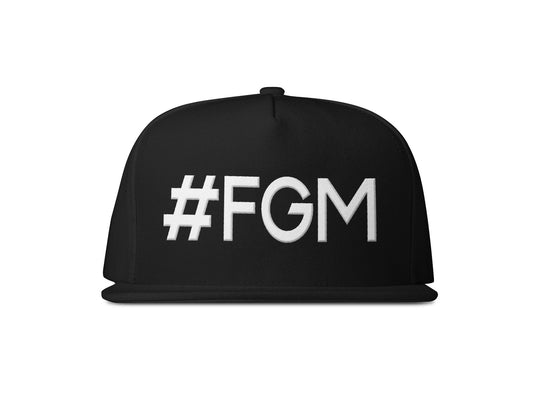 #FGM Hat - Puffy Embroidery - First Generation Millionaire