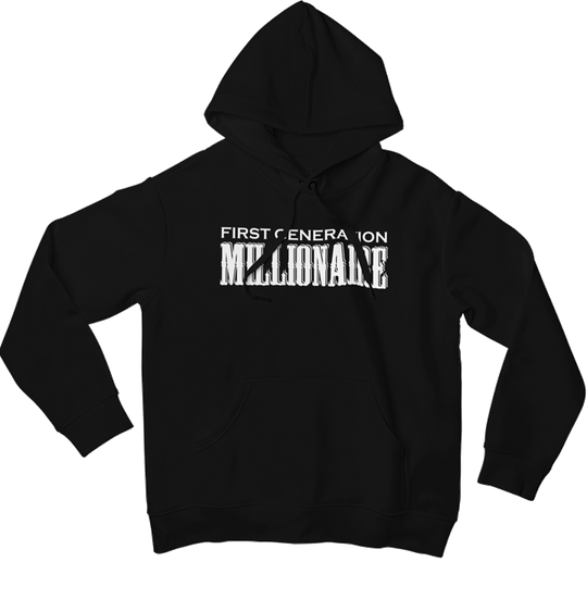 First Generation Millionaire Pullover Hoodie (Unisex)-Pullover Hoodie-First Generation Millionaire