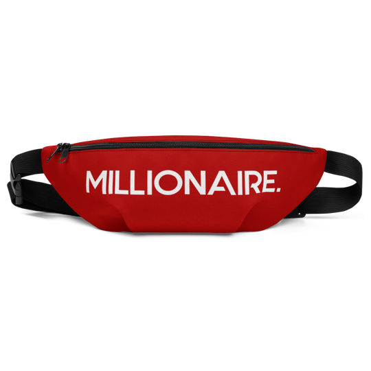 #FGM Millionaire Fanny Pack (RED)-First Generation Millionaire